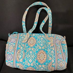 Vera Bradley Large Duffel in Totally Turq